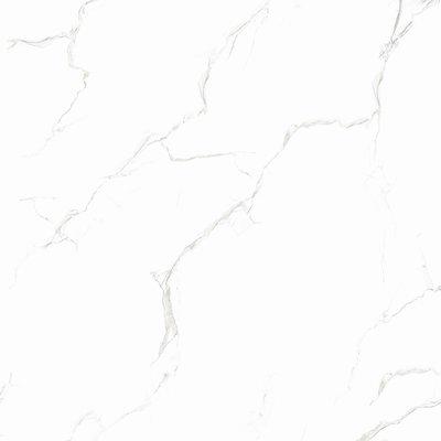 Tegel Carrara Glans Wit 80x80 Marmerlook Gerectificeerd