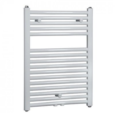 Designradiator Vicenza 75x60cm 463 Watt Glans Wit Middenonderaansluiting