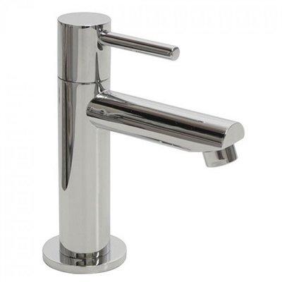Toiletkraan Aqua Laag Rond Chroom