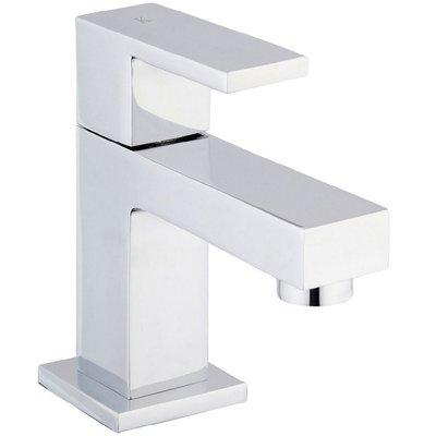 Toiletkraan Tombo Laag Vierkant Chroom